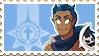 Wakfu OC Stamp: Tynan by RiikoChick