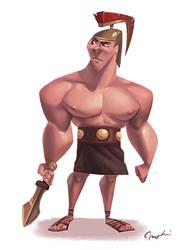 Gladiator by MagdaPROski