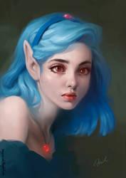 Princess Apricot by MagdaPROski