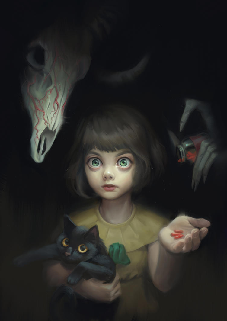 Fran Bow fanart by MagdaPROski on DeviantArt
