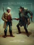 Artstation Wild West challenge Gunslingers closeup