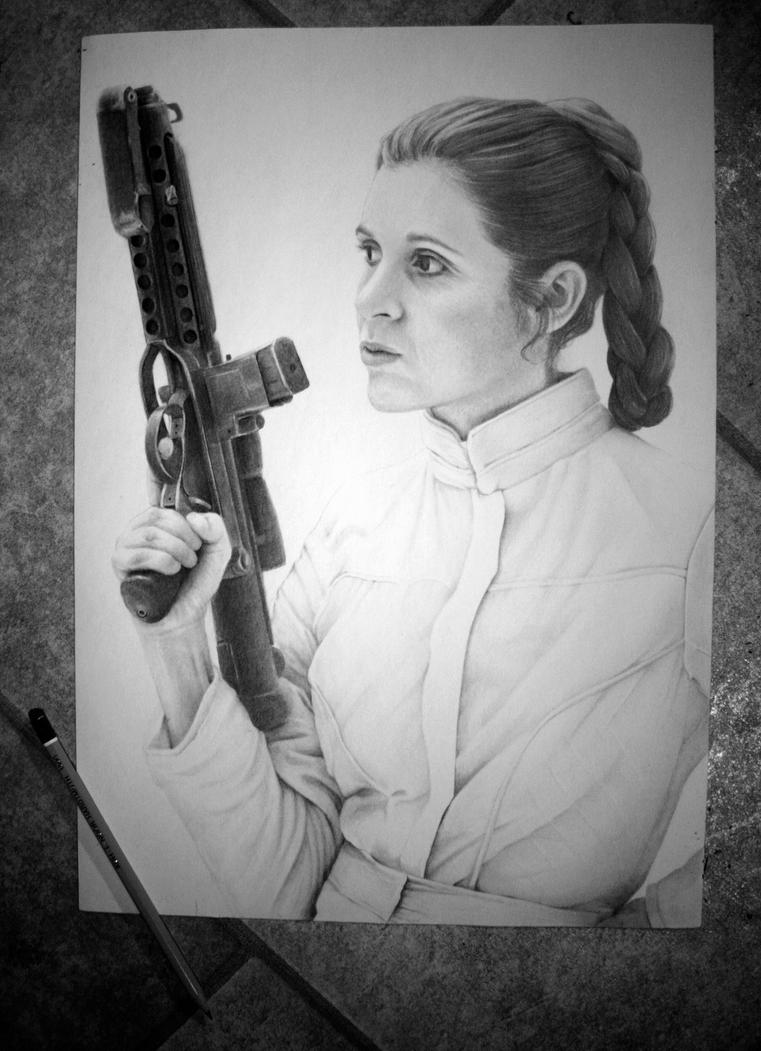 Leia Organa by Norwegian-Elite