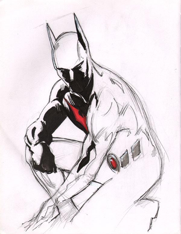 Batman Beyond by Dreamerwstcoast on DeviantArt