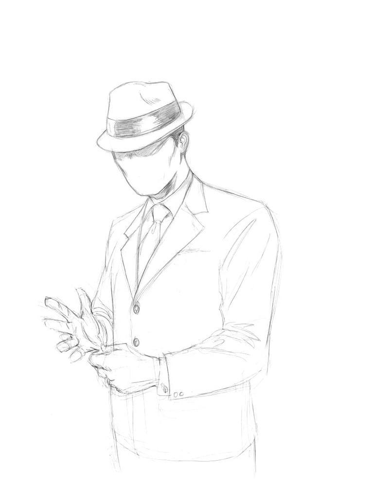 Sketch 71. The Question by Dreamerwstcoast