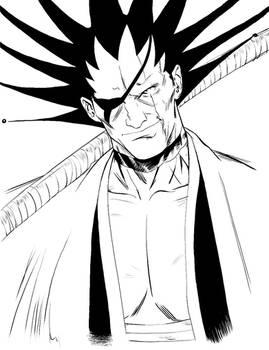 W.I.P. 004. Kenpachi: Black