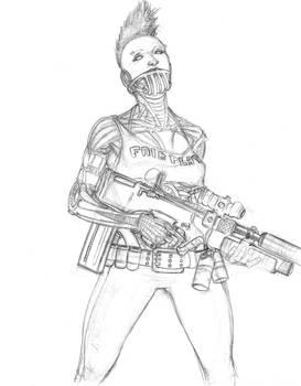 Sketch 81. Ladytron