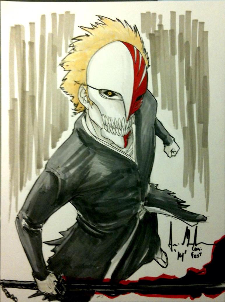 Ichigo Sketch by Dreamerwstcoast