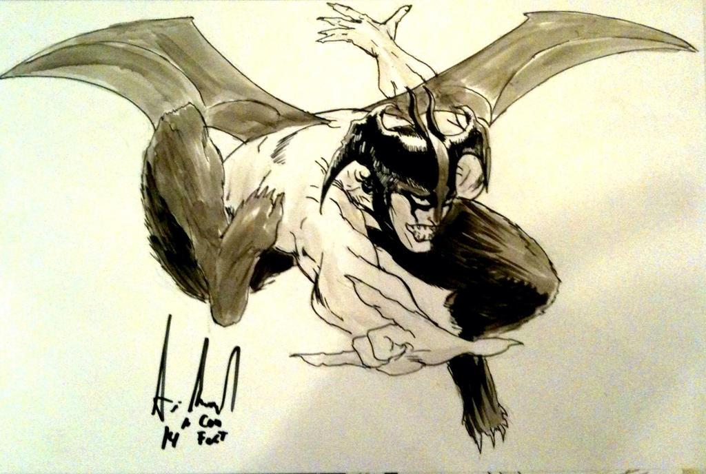 Devilman Sketch by Dreamerwstcoast