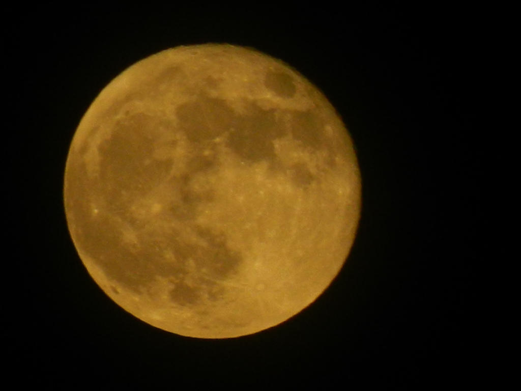 Good Morning Beautiful Moon 2012 by BrightStar2