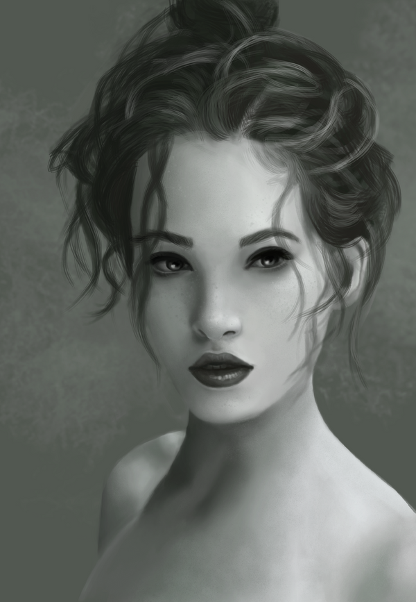 Female Portrait Study by Nathair23