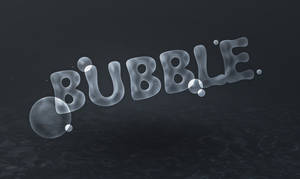 Text Effect Quickies Bubble Text