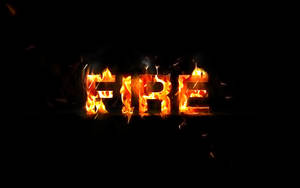 Create Awesome Particle Flame Text Effect by freebiespsd