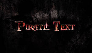 Design a Dirty, Cracked Text with Blood Effect in by freebiespsd