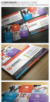 Corporate Business Card 01 by freebiespsd