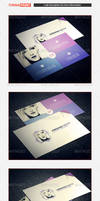 Personal Business Card Template 01