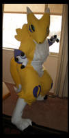 Renamon Battle Stance