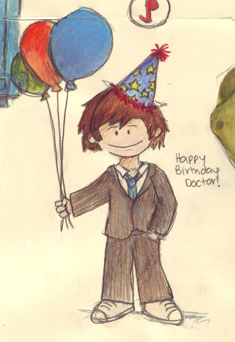 Happy Birthday Doctor by whosname on DeviantArt – Happy Birthday Card for Doctor