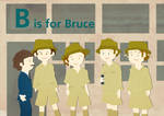 B is for Bruce