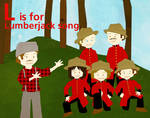 L is for Lumberjack Song