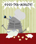 Cooking Dalek