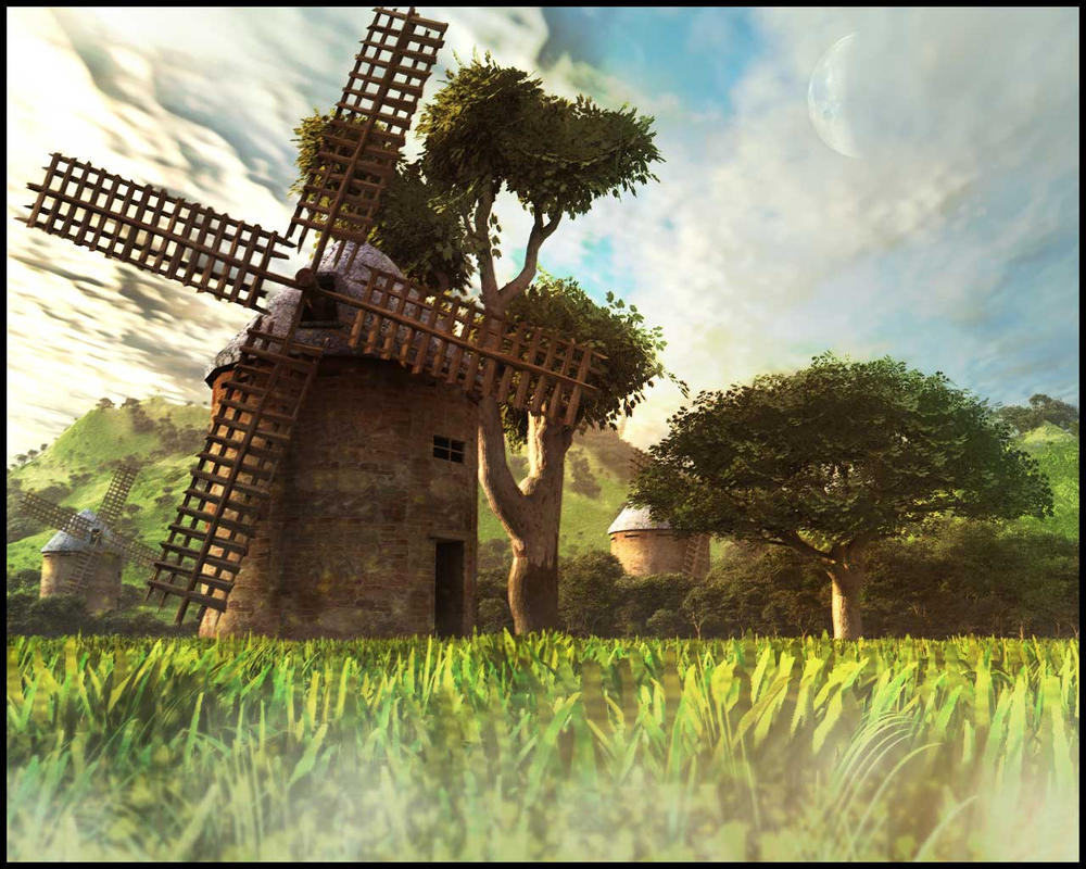 Windmill by crafaldar
