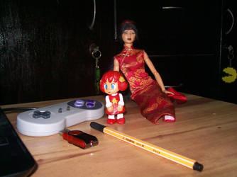 la adorable personita custom y makoto by angelguardian9