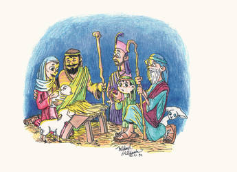 Nativity by WanyheadPress
