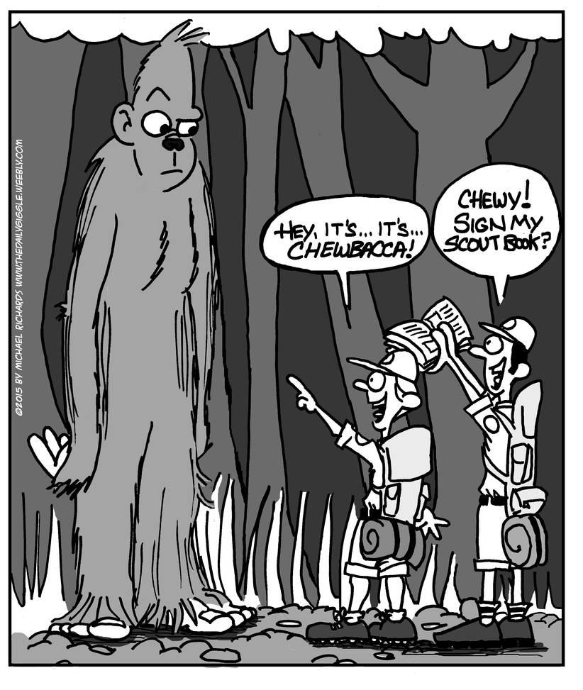 Bigfoot Chewbacca
