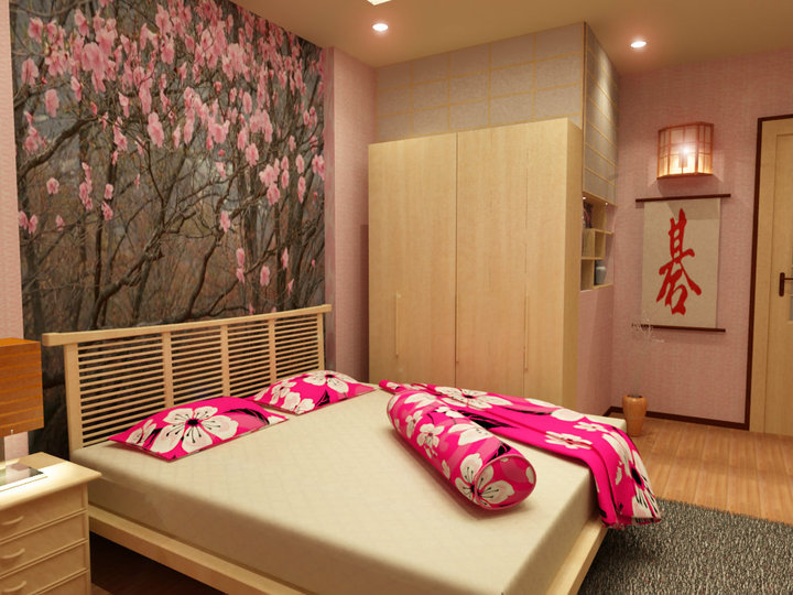 Japanese Bedroom by maxzheng