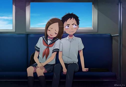 Takagi San Are You Awake By Kaiend On Deviantart