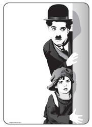 Charlie Chaplin by henstepbatbot
