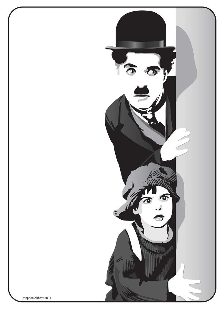 Charlie Chaplin by henstepbatbot on DeviantArt