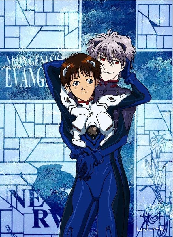 Eva_Embrace by Shinji-...