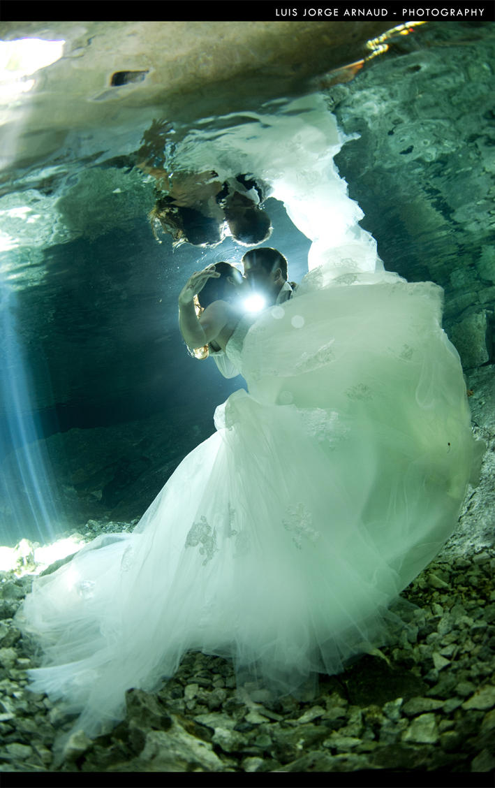 UnderWater Cenote Playa del Carmen- 2 by pearlchair
