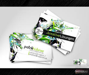 Collectible Business Card No.1 by MadPotato