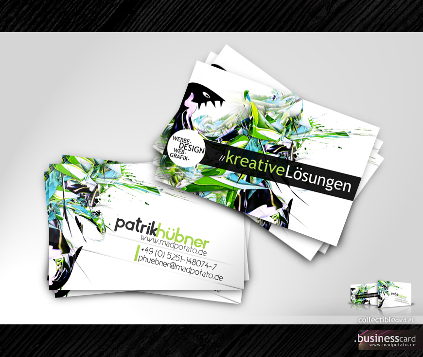Collectible Business Card No.1