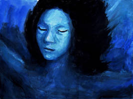 Paint It Blue by Teemeister