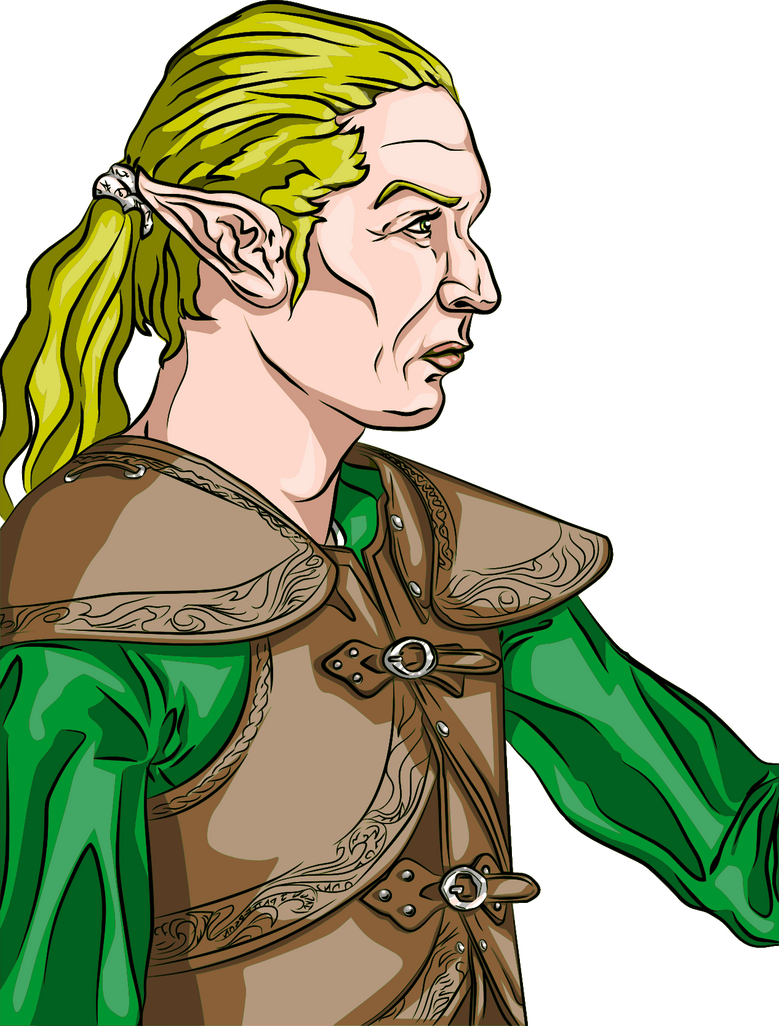 Elven Warrior by jpatterson
