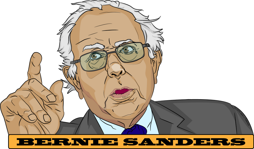 Bernie Sanders, US Presidential Candidate 2016 by jpatterson