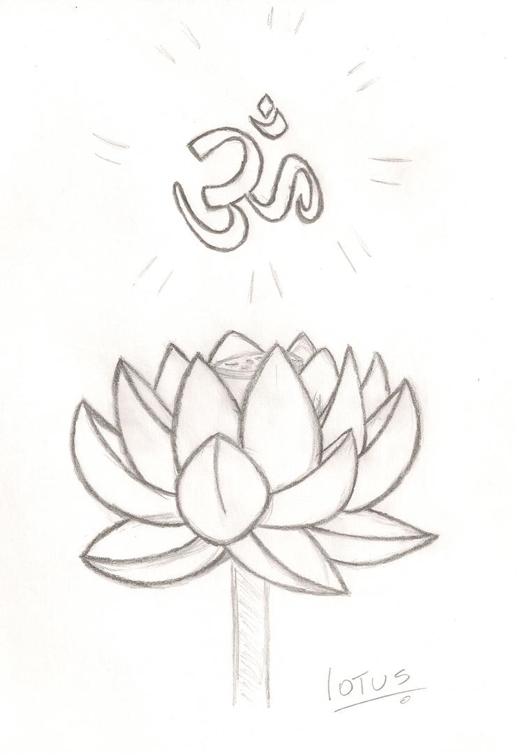 Aum Lotus by muariana on DeviantArt