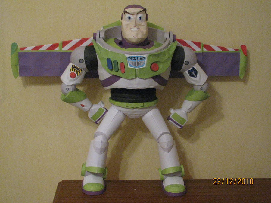 Buzz Lightyear Craft Full View by x0xChelseax0x