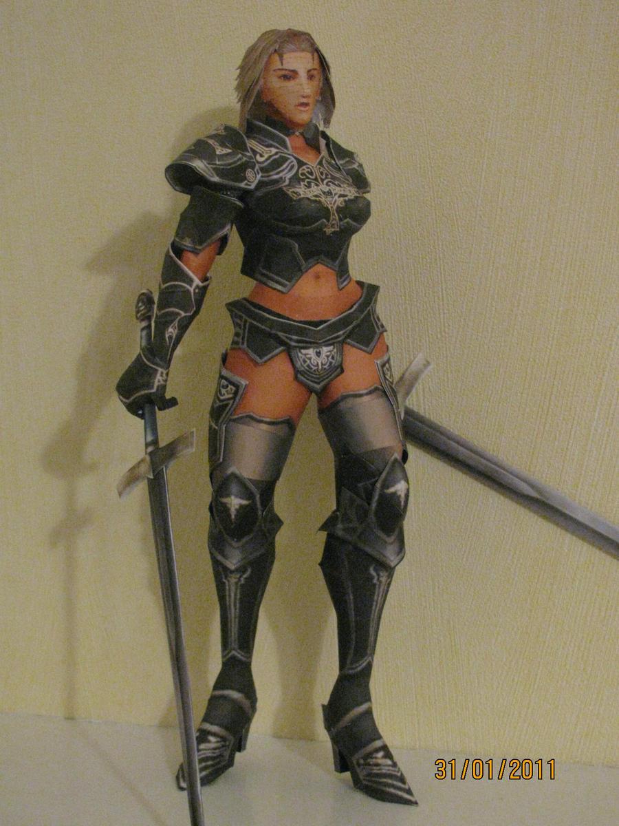 Lineage 2- Female Gladiator by x0xChelseax0x