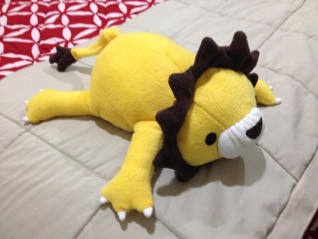 Fat Lion Plushie by x0xChelseax0x
