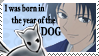 Year of the Dog Stamp by Ariaera