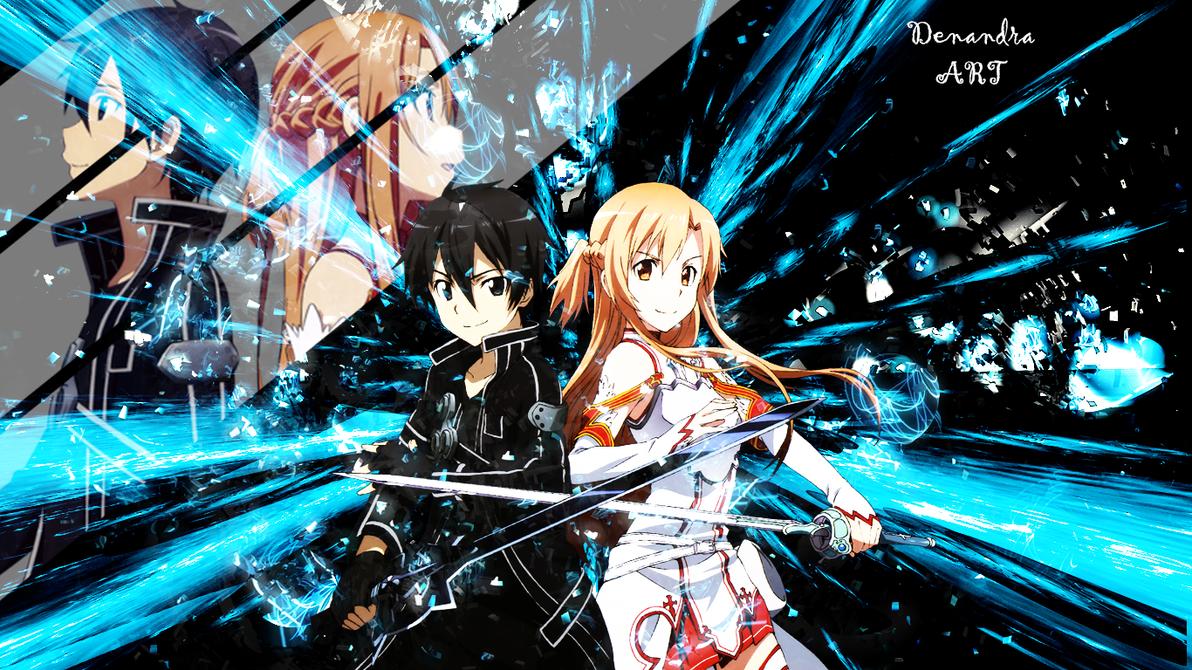 Sword art online wallpaper by denandra chan on deviantart - Sword art online wallpaper 720x1280 ...