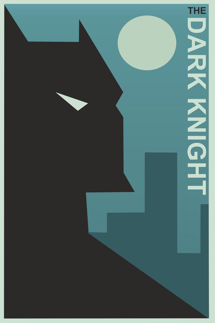 The dark Knight by Urzauy