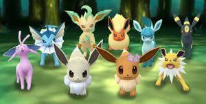 Pokemon Go Eeveelutions 2