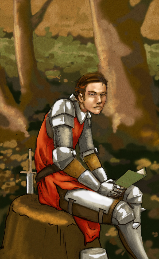 The Reading Knight by seneschal