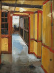 Winchester Hallway by seneschal