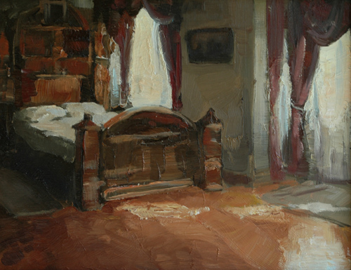 Mrs. Winchester's Bedroom by seneschal